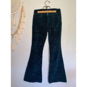 Joe's Velvet Hippie Flare Pants